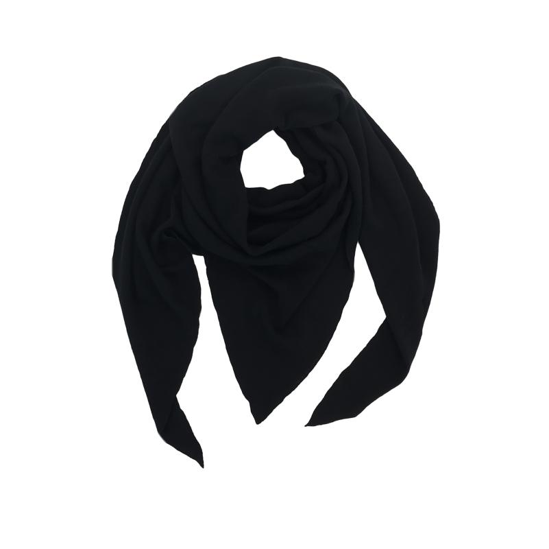 Triangle Schal black