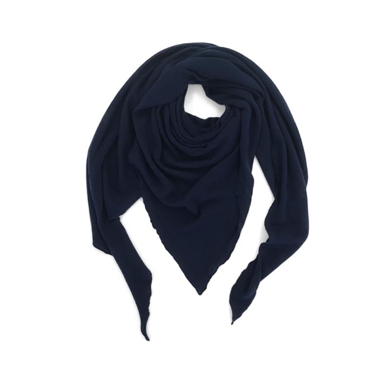 Triangle Schal dunkelblau