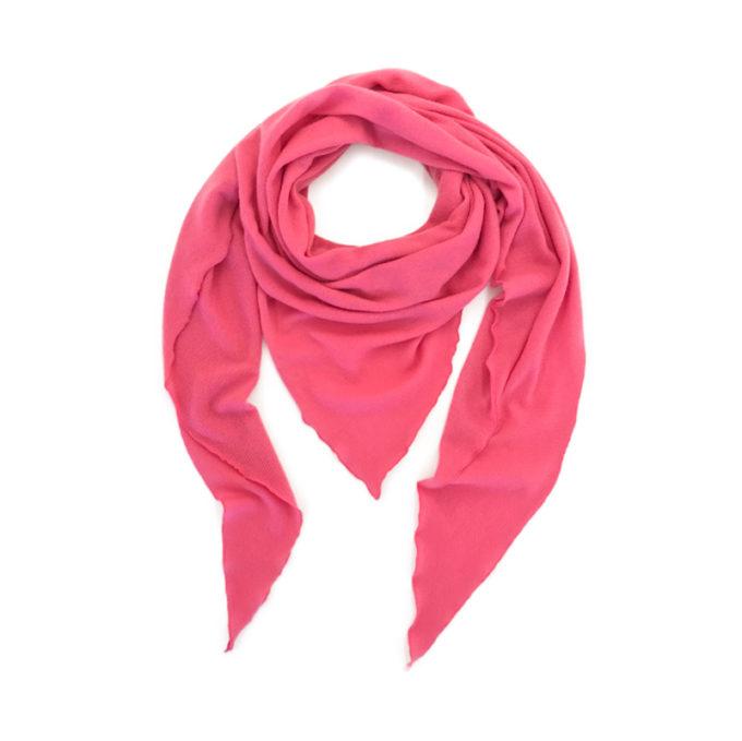 Triangle-Schal-pink