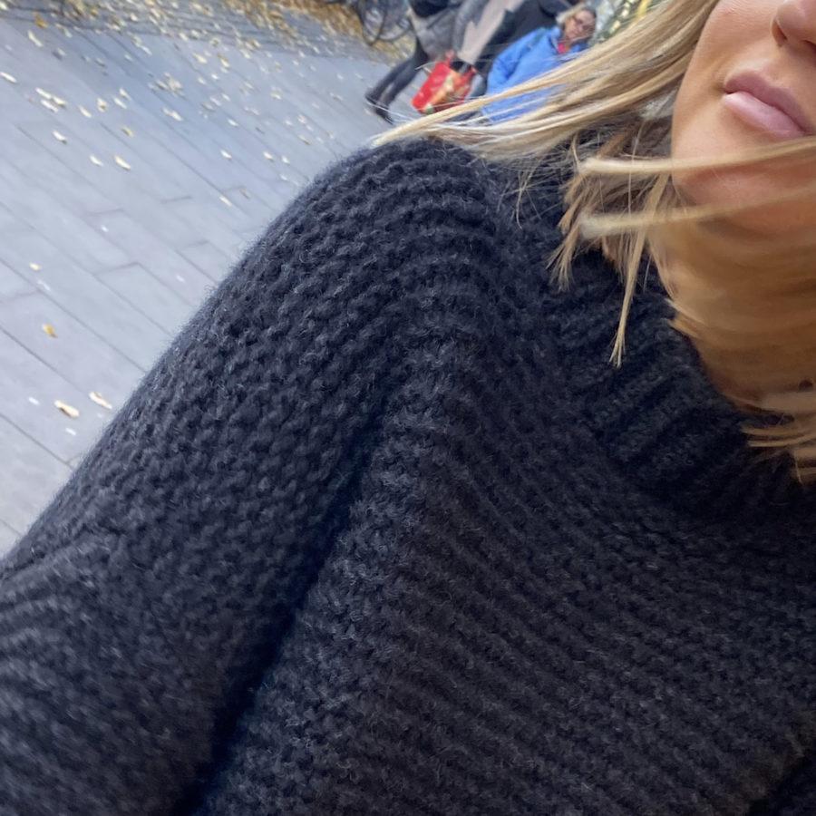 Strickpullover black Hannah 2