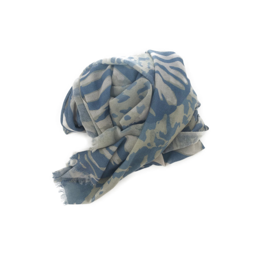 wlovef zebra blau